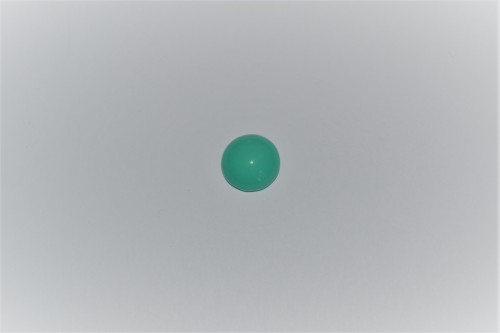 CABOCHON ROND - VERT TURQUOISE