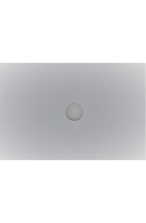 CABOCHON ROND 10 mm - BLANC