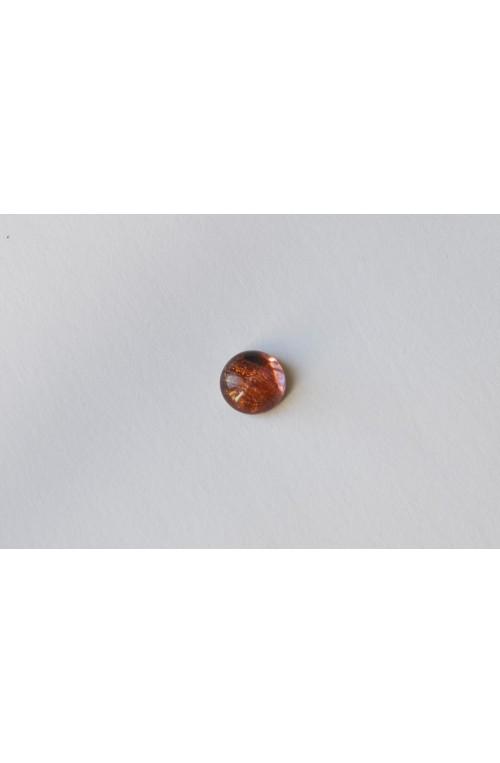 CABOCHON ROND 10 mm - AMETHYSTE ROSE