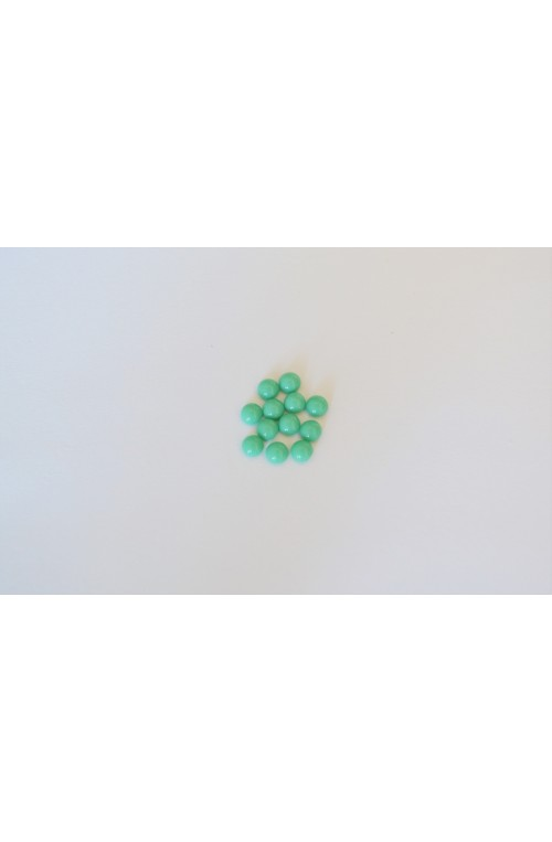 CABOCHON 4 mm VERT TURQUOISE