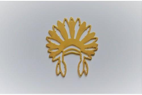 COIFFE INDIENNE ICATE dorée