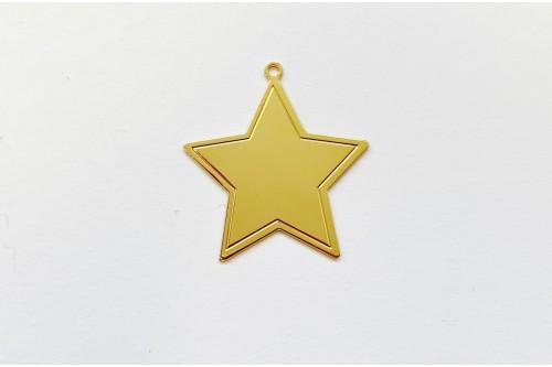 étoile dorée grand modèle