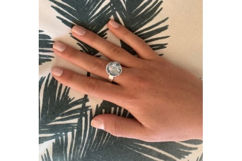 BASE BAGUE L + MINI SAND DOLLAR