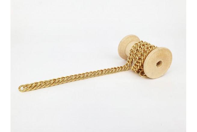 chaîne gourmette dorée