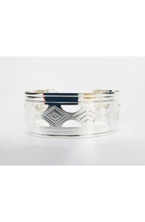 bracelet jonc INCA pour cuir ou tissus à coller
